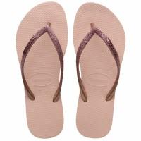 Havaianas Slim Glitter Fc 0076-Ballet Rose - Sandal Wanita