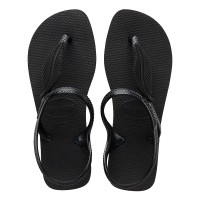 Havaianas Flash Urban Plus 0090-Black - Sandal Wanita