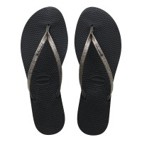 Havaianas You Shine Cf 0074-New Graphite - Sandal Wanita