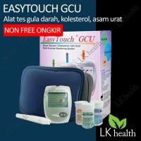 Easytouch Alat Cek Gula Darah Kolesterol Asam Urat Easy Touch GCU 3in1