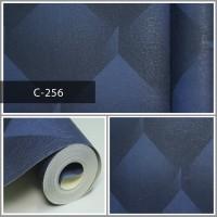 Wallpaper Sale Ready Biru Modern 53CM X 10M