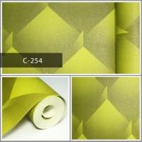 Wallpaper Sale Ready Hijau Modern 53CM X 10M