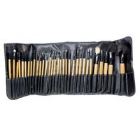 Kuas Makeup Professional Brush Make Up 32 Set dengan Pouch - Hitam