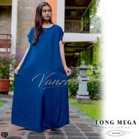 Daster Mega | Dress Vega Payung | Baju Midi Tidur | polos bali XXL 12