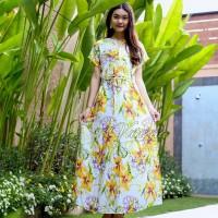 D14 Daster Mega | Dress Vega Payung |Baju Midi Tidur | Pakaian Casual