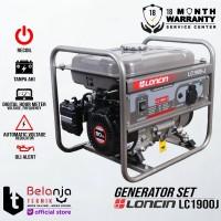 Genset Bensin - Loncin LC 1900 J - 1000 Watt - Generator Set