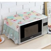 Shabby Lace Cover Series / Taplak Meja Tutup Microwave Sarung Kulkas