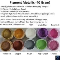 Metallic Powder 40 Gr - Cat Semprot Cat Metalik Cat Silver Gold