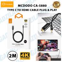 MCDODO CA-5880 TYPE-C TO HDMI CABLE PLUG & PLAY 4K 2M