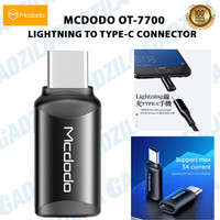 MCDODO CONNECTOR ADAPTER LIGHTNING TO TYPE C FAST CHARGER 3A AND DATA