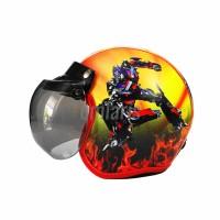 Helm Anak Cowok Model Bogo Karakter Transformers