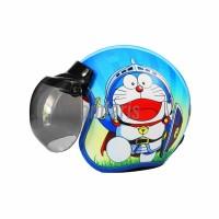 Helm Anak Model Bogo Karakter Doraemon