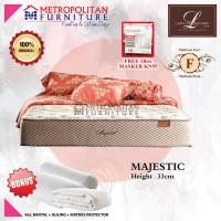 Kasur Springbed LADY AMERICANA Majestic 100 x 200 Spring bed matras