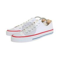 Sepatu Converse All Star White/Putih List Merah Grade Ori