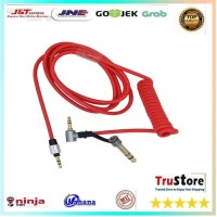 Aux Audio Cable Pro Detox 3.5 and 6.5 mm Male to Male