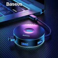 BASEUS USB HUB ADAPTOR TYPE C HUB MULTI PORT ADAPTER - USB-USB 10CM