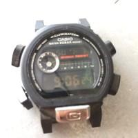 casio g shock dw 9000 negative display bawaan