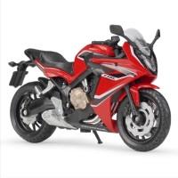 Jual Diecast Miniatur Motor Honda CBR 650 F CBR650F Skala 1/18 Welly