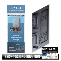 2 in 1 Charging Stand + Cooling Fan PS4 Fat/Slim +3 Slot USB