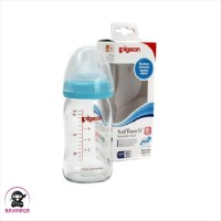 PIGEON SoftTouch Wide Neck PP Botol Susu 160 ml