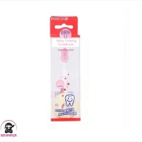 PIGEON Baby Training Toothbrush Lesson 1 Light PInk