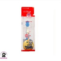 PIGEON Baby Training Toothbrush Lesson 1 Light Blue