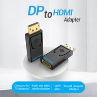 Vention HBK Converter DisplayPort DP To HDMI Female Macbook Windows