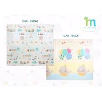 Playmat Karpet Matras Bayi Lipat Foldable Dua Sisi Mini Tiny Kiddy