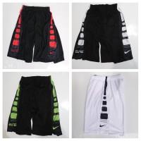 Celana Basket training Nike Elite Stripe Hitam Putih Grade Original