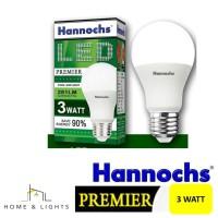 Hannochs Premier LED Bulb 3W
