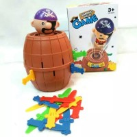 Pirates Barrel / Pirate Barrel / Mainan edukasi Anak Pirates Barel