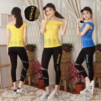 setelan baju senam wanita-setelan baju fitness wanita-setelan aerobic