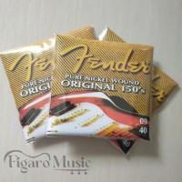 Senar Gitar Merk Fender 150's .09-.40 - 1 Set