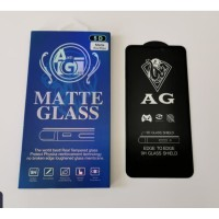 Tempered Glass Anti Glare Matte iPhone XR Full Cover Covered Bagus X