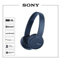 SONY WH-CH510 Blue Wireless Headphones