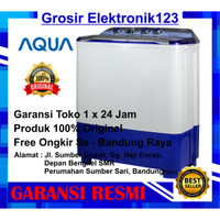 Mesin cuci Aqua sanyo QW 780 - XT mesin cuci 2 tabung