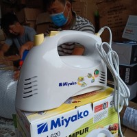 MESIN HAND MIXER MIYAKO HM 620 (HANYA MESIN) BERGARANSI ORIGINAL MURAH