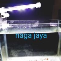 lampu led jepit aquarium aquascape 20 sd 40 cm Yang 3 watt