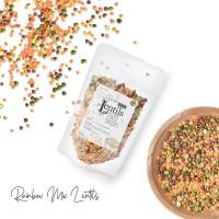 House Of Organix Natural Rainbow Mix Lentils 100 Gr
