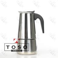 Moka Pot Stainless 6 Cup Mokapot Espresso Coffee Maker Pembuat Kopi