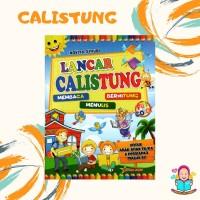 Buku Aktivitas Anak Lancar Calistung Baca Tulis Hitung TK PAUD