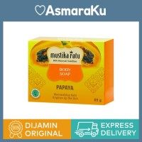 Mustika Ratu Body Soap Papaya Pepaya - 85 gr