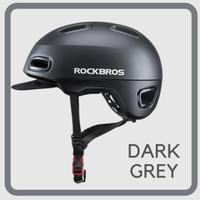 ROCKBROS Helm Sepeda I Helm Sepeda Lipat I MTB I BMX I Road Bike - Abu-abu