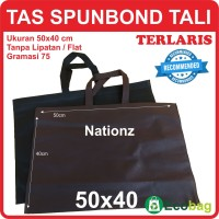 50x40 cm Tas Kain / Spunbond / Goodie Bag / Kantong / polos