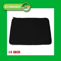 Laptop Softcase 14 inch , Notebook Soft Case with Zipper - Ritsleting