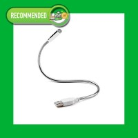 USB LED Light - Lampu Ketik Laptop Flexible - Lampu Baca