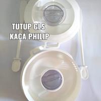 Tutup sendok blender philips kaca beling gelas HR2115/2116/2071/Cap