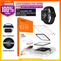 Screen Protector Apple Watch 5 4 Spigen Flex EZ Fit Full Screen Guard