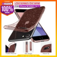 Case iPhone SE 2020 / 8 / 7 Spigen Liquid Crystal Glitter Casing