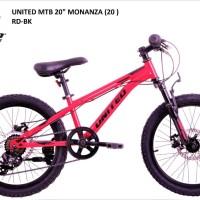 Sepeda MTB UNITED MONANZA 20in